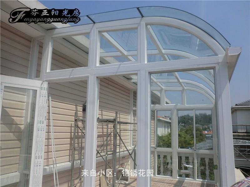 芬亚阳光房*锦绣花园钢结构阳光房