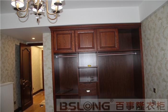 定制衣柜龙蟠路-雅居乐安装实木卧室柜