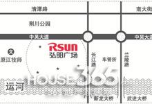 弘阳广场区位图