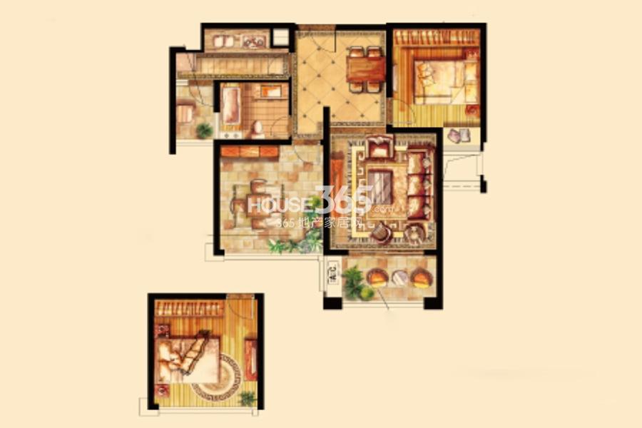 立新苏杭之星6#楼86平米
