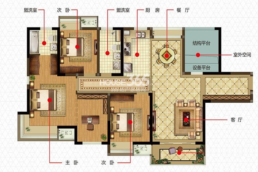 新加坡尚锦城C5户型图