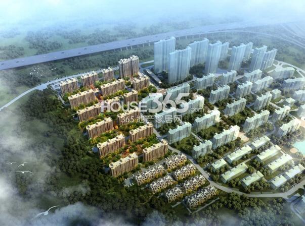 银亿东城12街区鸟瞰图