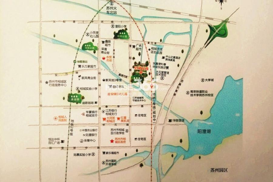 花海微家交通图