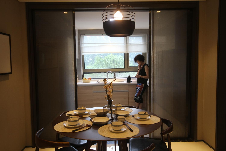 阳光郡项目135方样板房--餐厅