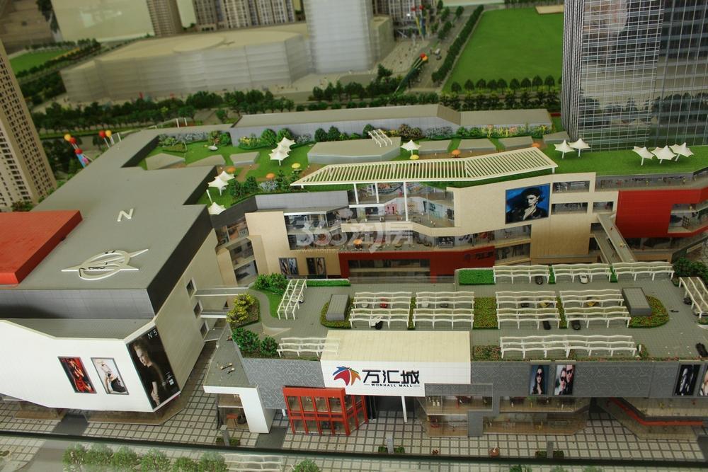东方万汇城售楼处实景图(9.25)
