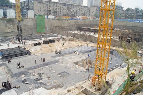 恒天国际城施工进度图