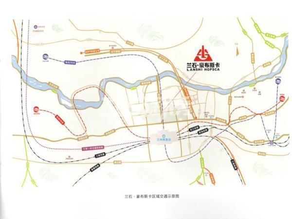 兰石·豪布斯卡交通图