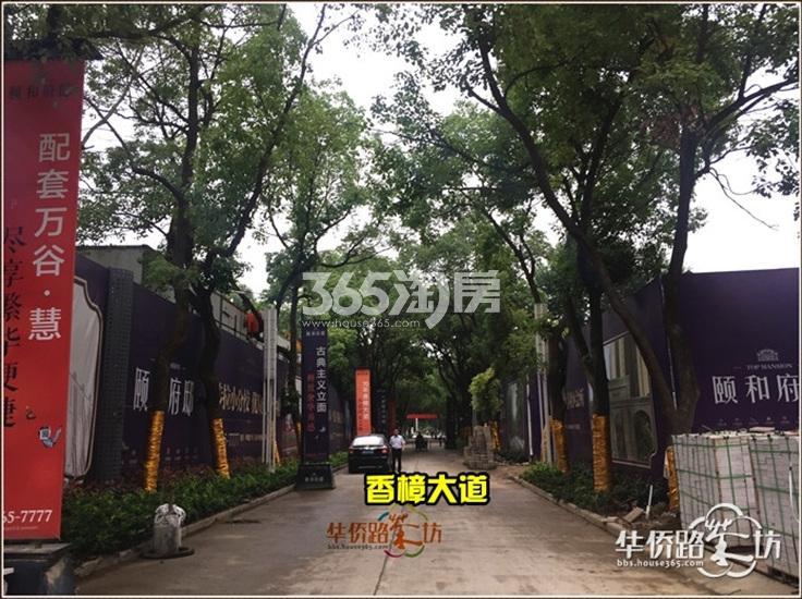 中电颐和府邸项目实景图(06.21)