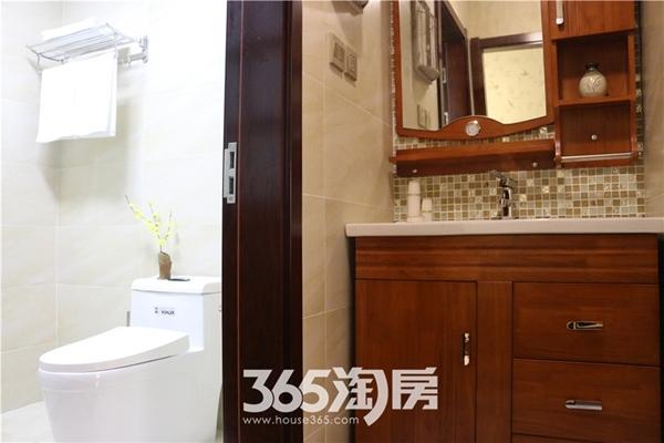 东方蓝海124平房源样板间-卫浴