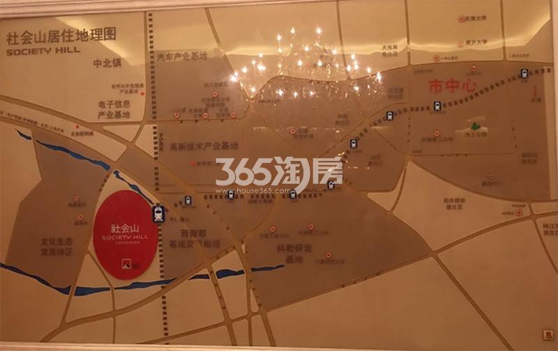社会山西苑交通图