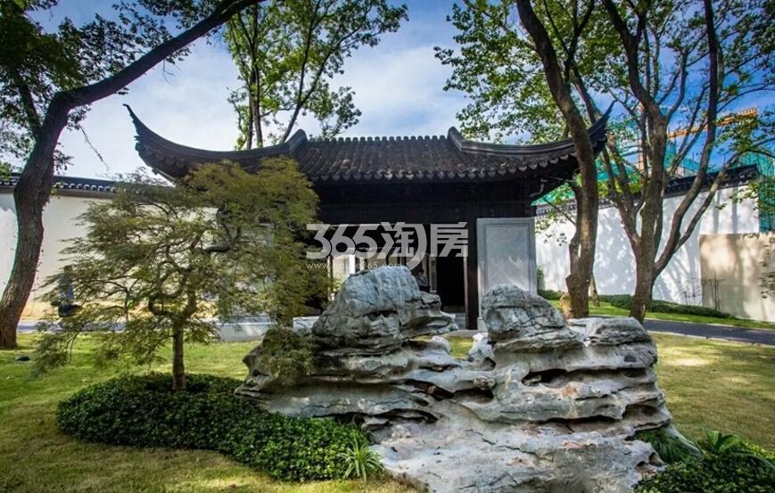 绿城南京桃花源示范区实景图(12.23)
