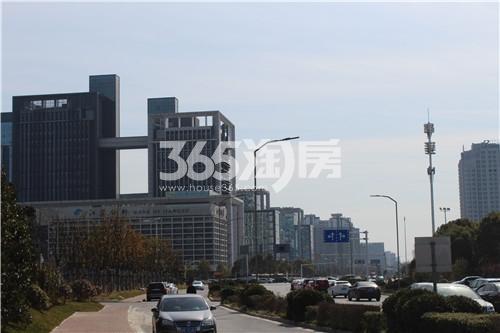华城科技广场销售中心实景