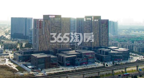 深港亚太中心实景图