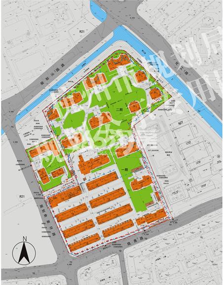 首开杭州金茂府项目总平面图