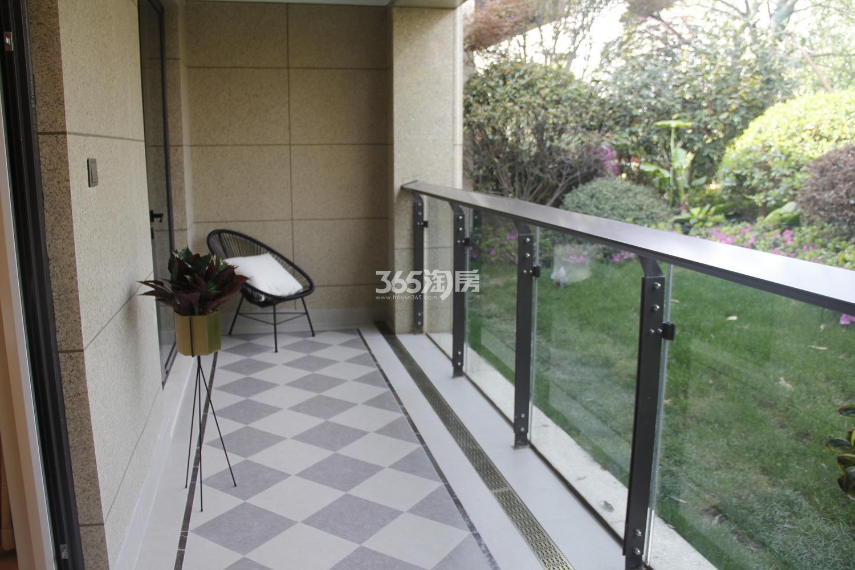 首开杭州金茂府125方样板房---阳台
