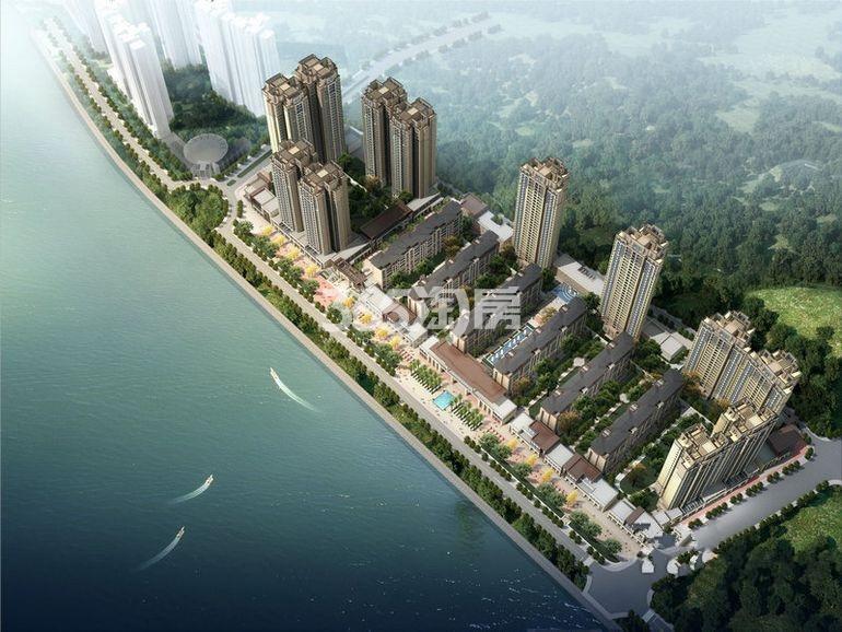 东原长岛·商铺效果图
