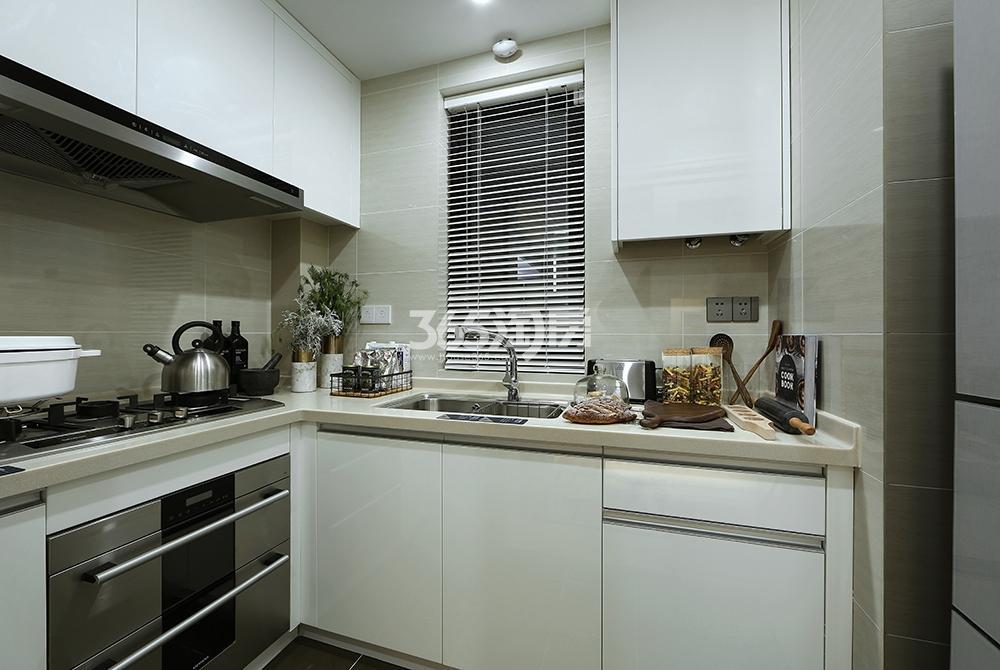 万科融信西雅图90方样板房——厨房