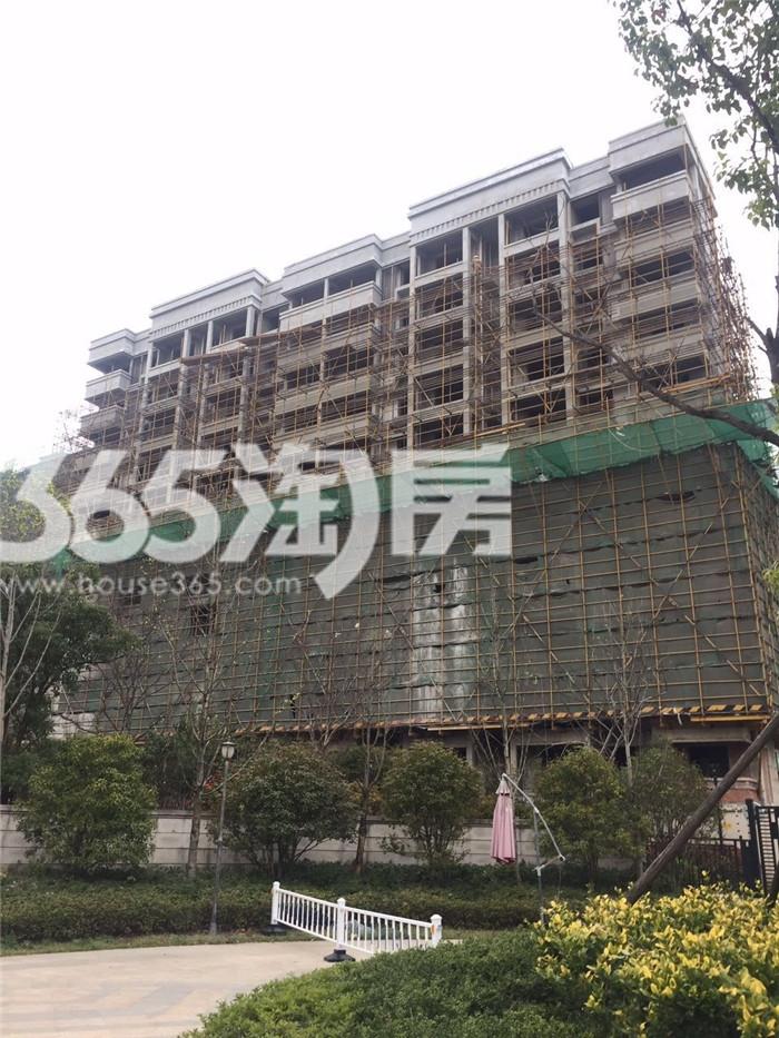 银亿东城9街区楼栋实景图(5.24)