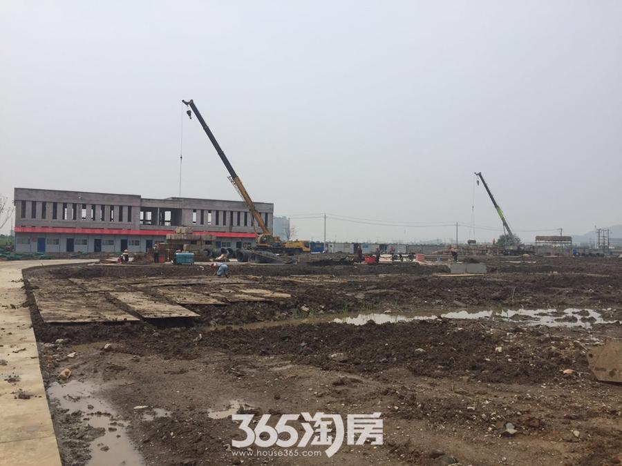 华仑熙华府工程进度(2017年5月摄)