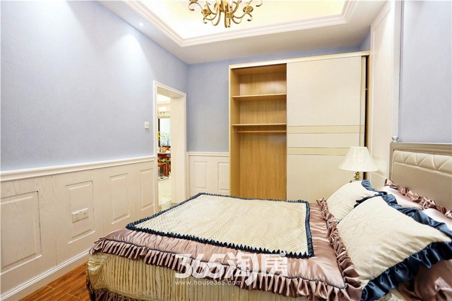 翰林公馆C1`户型样板间—卧室