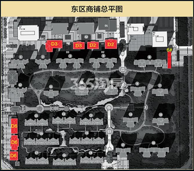 国润城商铺平面图