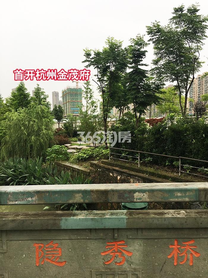 2017.6.25隐秀桥上拍首开杭州金茂府