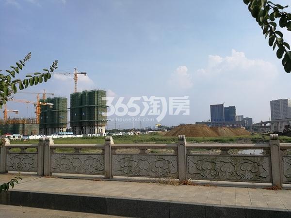太平洋城中城二期工程实景(2017.8)