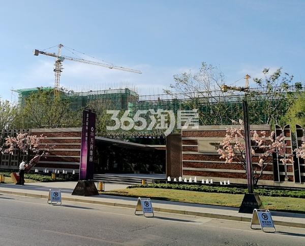 万科维园三期洋房工程实景(2017.7)