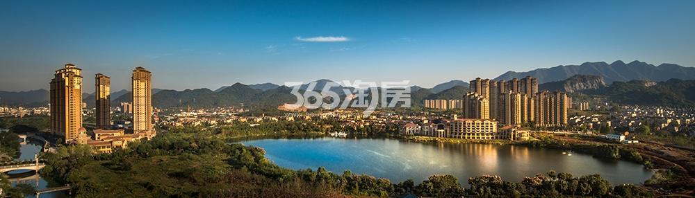 东海闲湖城华景湾实景图