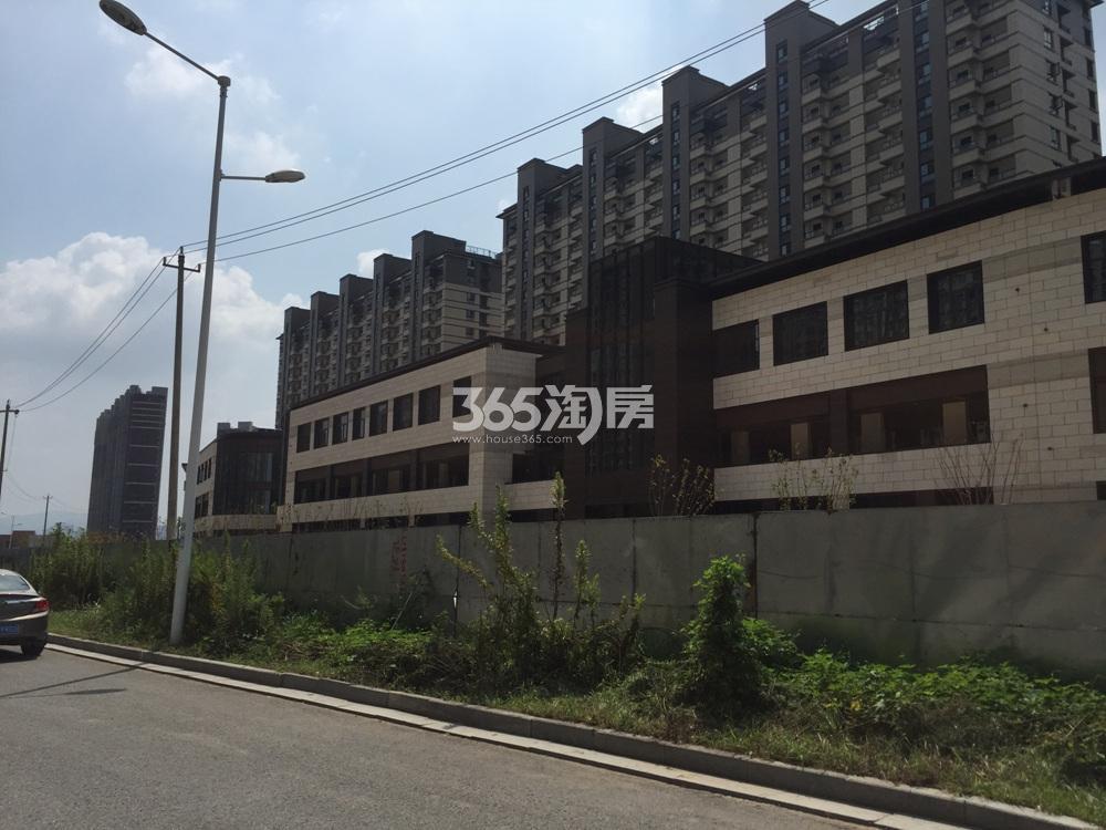 高科荣境的公园体验式商业街实景图(8.28)