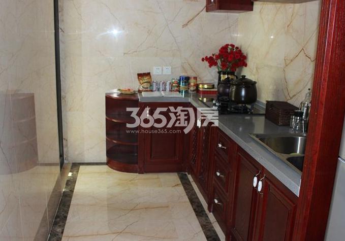德杰国际城235.5平样板间厨房