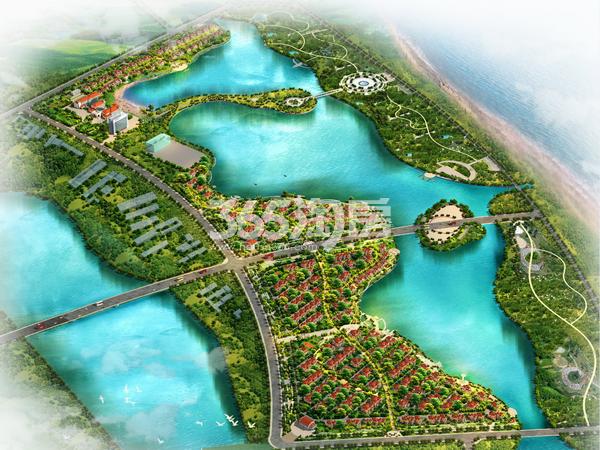 新汇东海岸鸟瞰图