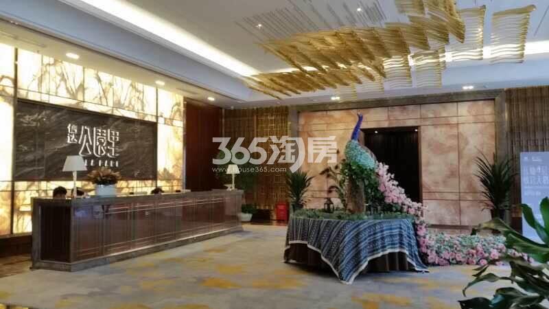 信达公园里售楼部大堂实景图(9.29)