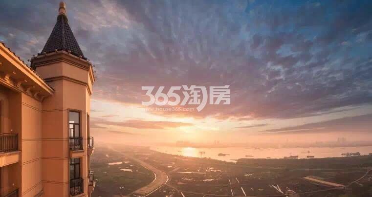 雅居乐滨江国际高层效果图