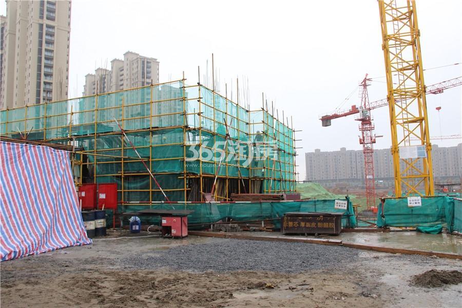 江山薈施工现状实景图(10.11)