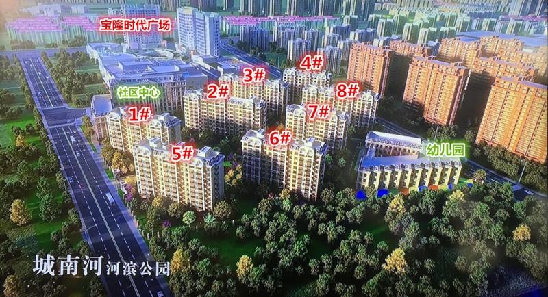通宇林景尊园鸟瞰图