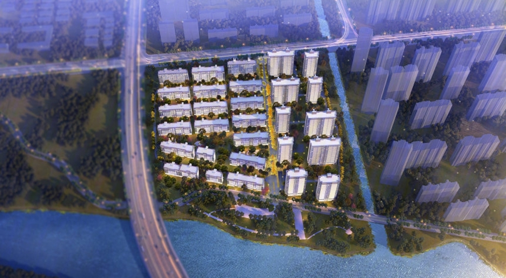 上东区PRO项目鸟瞰