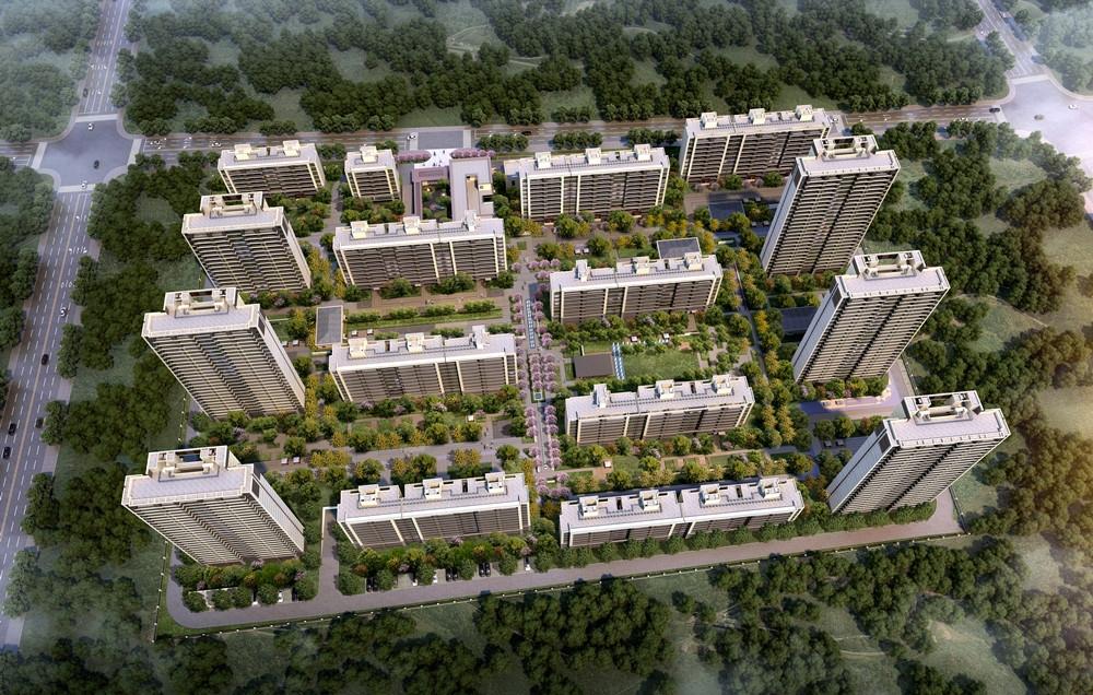 港龙湖光珑樾港龙·湖光珑樾鸟瞰图