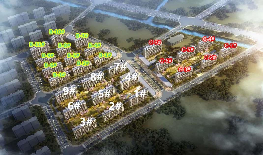 上棠颐和府鸟瞰图