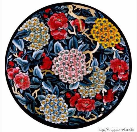 中国传统刺绣图片